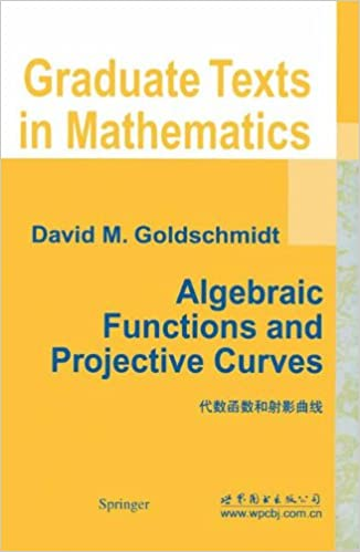 Book Algebraic Functions and Projective Curves (Graduate Texts in Mathematics)