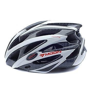 Luna de mujeres/hombres montaña/carretera/Half Shell Bicicleta Casco 25 respiraderos Ciclismo
