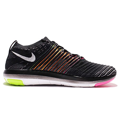 Nike Free Transform Flyknit Oc Dames Zwart / Multi Color Hardlopen Sneakers