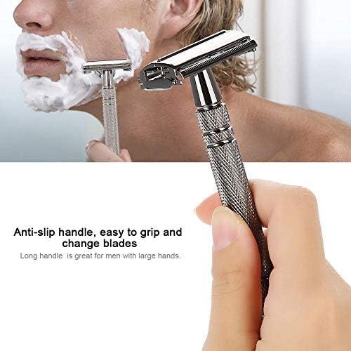 Afeitadora de barba de mango largo, elegante mariposa retro ...