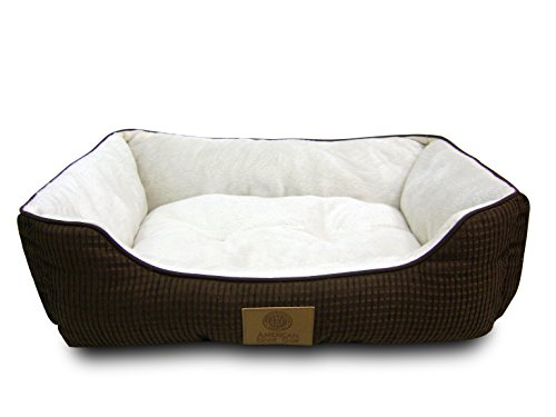 LARGE Nesting Dog Bed Cushion Mattress Kennel Pad Soft Pet C