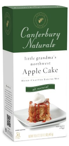 Canterbury Naturals Apple Cake Mix, 16.5-Ounce Packages (Pack of 6)