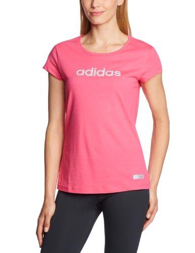 adidas Glam - Camiseta para mujer morado - rosa
