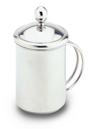 Grunwerg Stainless Steel Milk Frother Cappuccino Creamer CPC-05 MS
