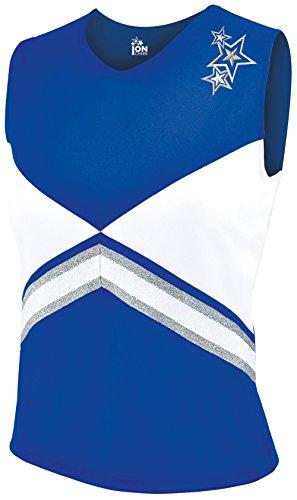 Revolution Cheer Uniform Shell Top - Royal XX-Large