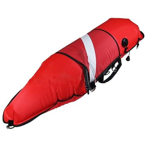 Scuba elección Spearfishing Flotador Torpedo con inflador Oral: Amazon.es: Juguetes y juegos