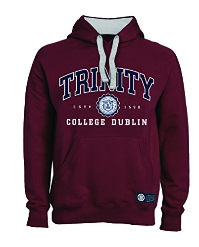 Trinity College Burgundy Hoodie Collegiate Seal (X-Large)