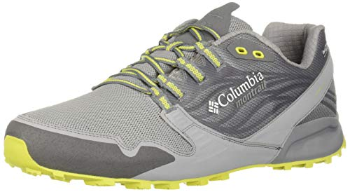 Columbia Montrail Men's Alpine FTG (Feel The Ground) OutDry Trail Running Shoe,Ti Grey Steel, Zour,10 Regular US