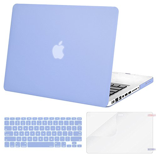 MOSISO Plastic Hard Shell Case & Keyboard Cover & Screen Pro