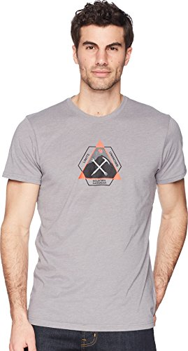 Mountain Hardwear Men's Route Setter T-Shirt, Heather Manta Grey, ()