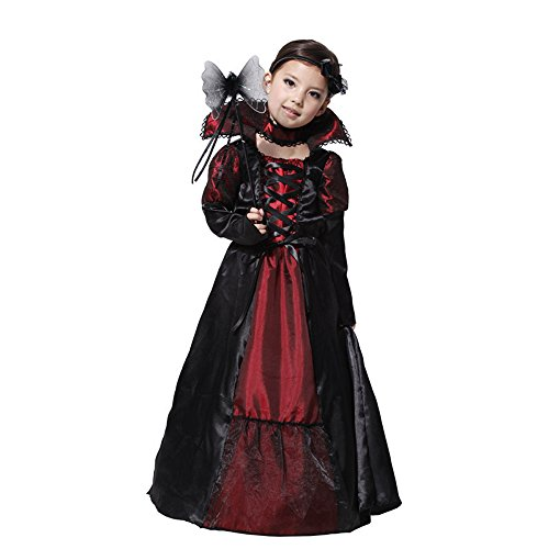 Children's Teen Girls girls Fancy Cool evil queen Halloween costume for Sale (110-120cm)