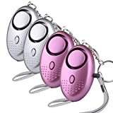 FanAut Safe Sound Personal Alarm Keychain Emergency Personal Safety Devices for Women Elderly Students
