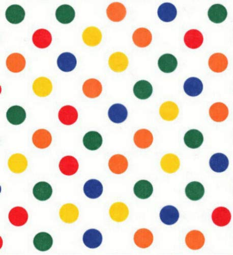 Primary Dots Gift Tissue Paper-30 ()
