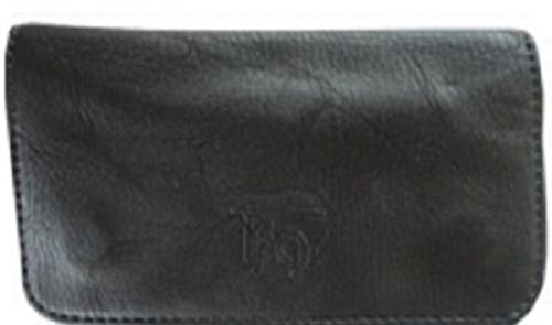 Tobacco Case Pouch Synthetic Leather Smoke For Rolling Cigars Black No Design by Tfar