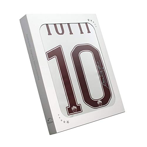Francesco Totti Signed AS Roma 2016-17 Away Jersey: The Final Season In gift Box