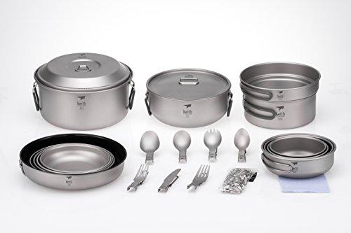 Keith Titanium Ti6201 22-Piece Dinnerware Set for 4 by KEITH TITANIUM