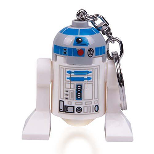LEGO Star Wars : The Last Jedi  R2-D2 LED Key Chain Flashlight