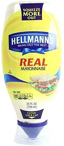 Hellmann's Real Mayonnaise, Squeeze 25 Ounce by Hellmann's