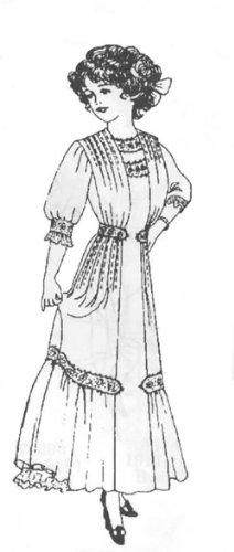 [1910-11 Misses' Panel Dress Pattern] (1910 Costumes)