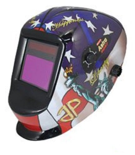Astro Pneumatic Tool 8097SE Auto-Darkening LVA Welding Helmet with USA Theme by Astro Pneumatic Tool