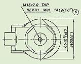 2PCS EDL GD-120S 2000kg Foot Levelling Adjustable