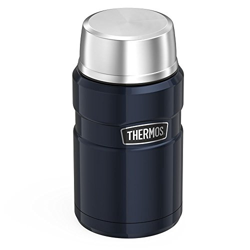 Thermos Stainless King 24 Ounce Food Jar Midnight Blue Kitchen Dining