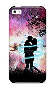 New Fashion Case Awesome S Love Kiss Hug Flip case cover With Fashion Design qQCnHtinZ01 For iphone 5s