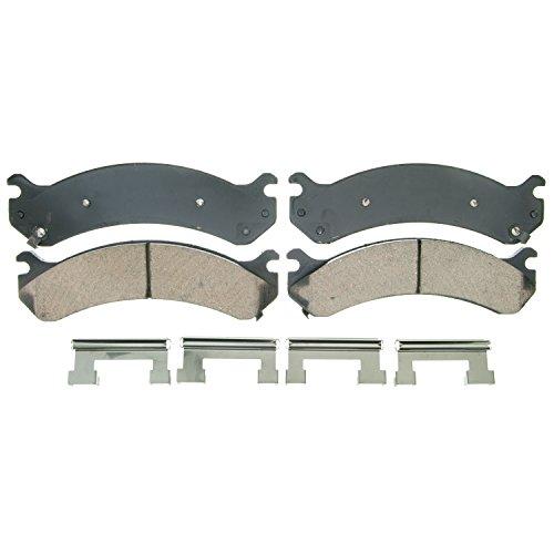 Pad Brake Chevrolet 1500 Silverado - Wagner QuickStop ZD784 Ceramic Disc Pad Set Includes Pad Installation Hardware, Front