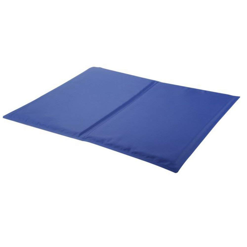 L Pet Bed Cooling Pet Bed for Keeping Pet Cool in Summer Mattress Heat Relief Self Cooling Pad for Pets in Hot Summer Pet Dog Cat Comfort Cooling Bed Pad Mat (Size   L)