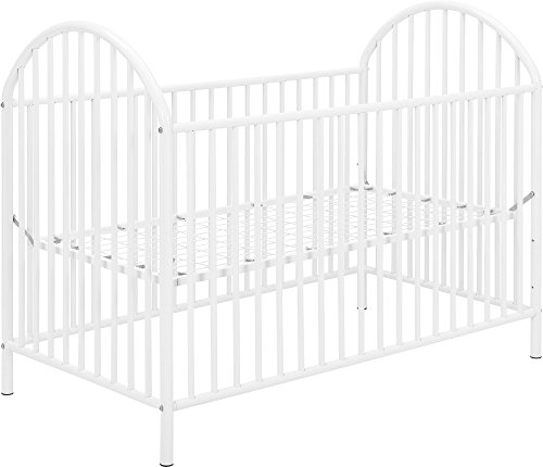 Ameriwood Home Applegate Metal Crib, White Review