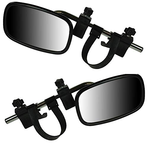 BITS4REASONS MAYPOLE NEW 2019 MODEL MP8329 EXTENSION CARAVAN TOWING MIRRORS PAIR (CONVEX)- NEW CLAMPING SYSTEM