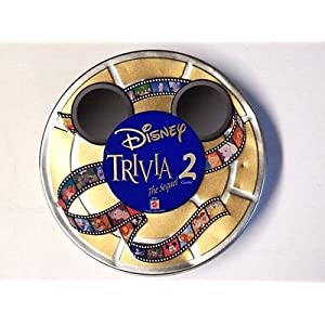 Disney Trivia the Sequel 2 Game Tin
