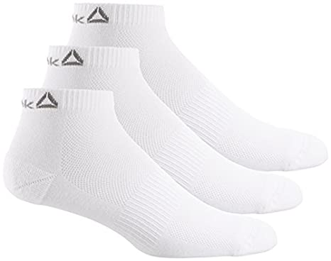Reebok Unisex Sport Essentials Ankle Socks (Pack of 3)