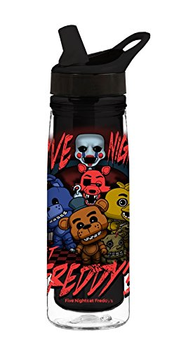 Funko Five Nights At Freddys Acrylic Water Bottle