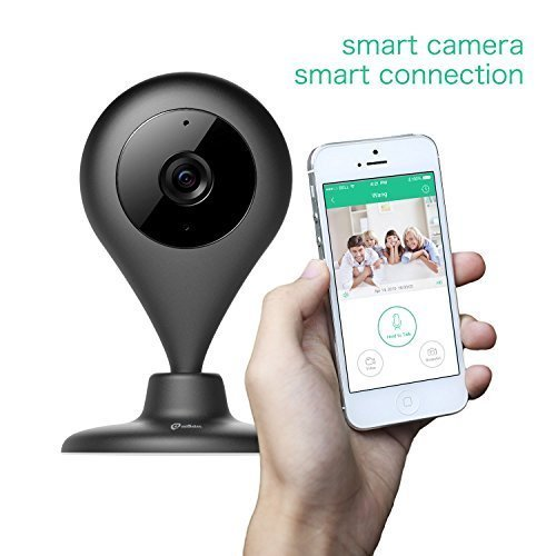 Mini Security Camera Misafes 1280x720p Hd Wireless