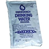 Datrex Water Pouches Case of 64 - 4 ounce Pouches
