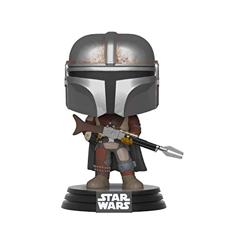 Funko Pop Bobble Vinyle Star Wars The Mandalorian - Mandalorian