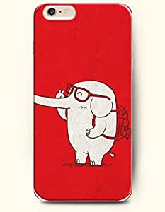 SevenArc New Apple iPhone 6 ( 4.7 Inches) Hard Case Cover - An Elephant Goes to School