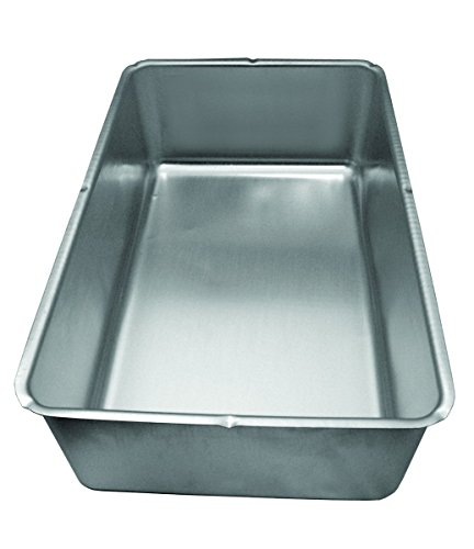 Update International Aluminum Spillage Pan, 6 x 8 x 6.25 in, 6