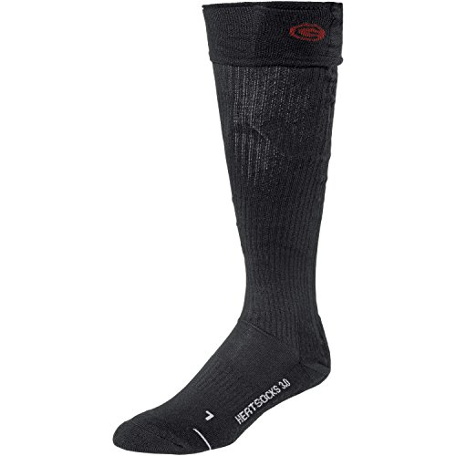 Set of Lenz Heat Sock 3.0 Black, Small (3.5 - 6) And Battery Pack rcB 1200, 1520-11