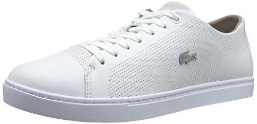 Lacoste Mens Showcourt Fashion Sneaker White 11 M US