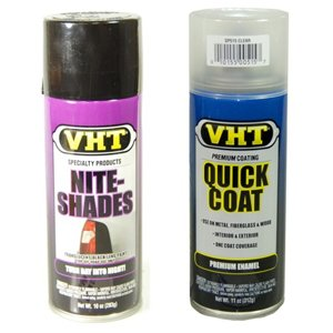 VHT Nite-shades and VHT Quick Coat Clear Coat Kit SP999-SP515