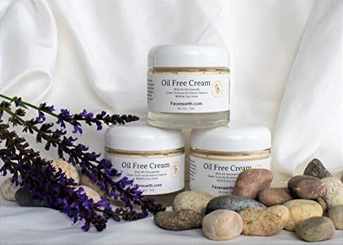 Niacinamide Vitamin B3 Oil-Free Cream 73% Organic Vegan Chemical Toxic Free Acne/Rosacea/Oily Skins