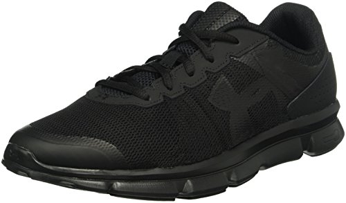de Micro G Noir Under Chaussures Entrainement Armour Homme Speed Running Black Swift xwgxY65q