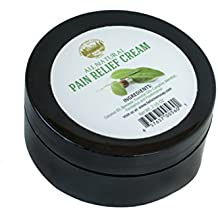 Pain Relief Therapy Cream [2 Oz] - 100% Pure, Best Therapeutic Grade Essential Oil, All Natural Cream Aromatherapy for Arthritis, Back Pain, Tennis Elbow, Carpal Tunnel, Sore Muscles, Joints Pain