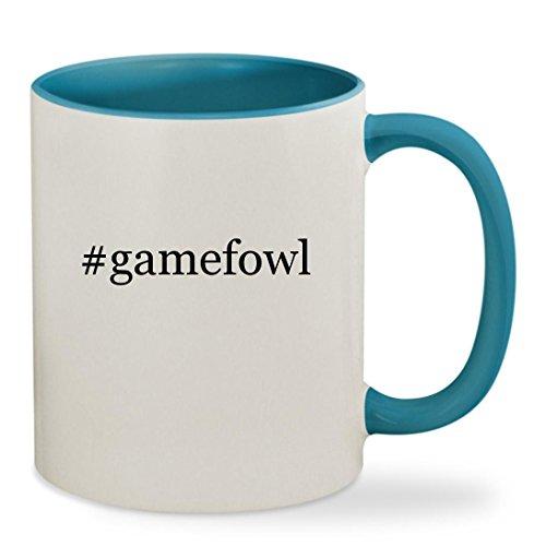 Knick Knack #gamefowl - 11oz Hashtag Colored Inside & Han...