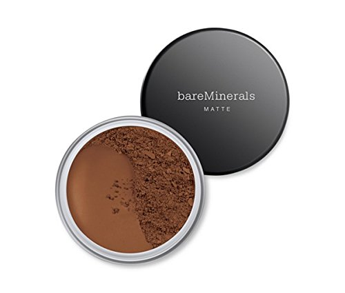 (Bare Escentuals Baremineral SPF 15 Flawless, All Day Long Foundation - Natural Matte Finish (Deepest Deep))