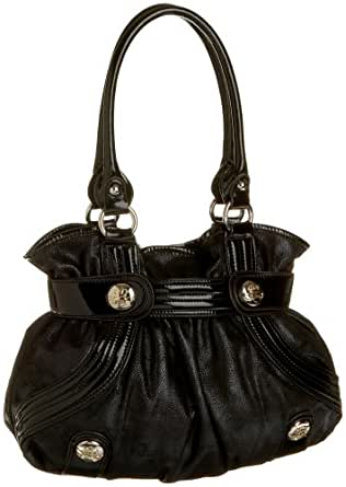 KATHY Van Zeeland Delicious Belt Shopper,Black,one size