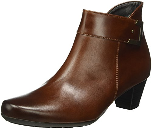Gabor Shoes Comfort Sport, Botines para Mujer Marrón (sattel/EF micro)