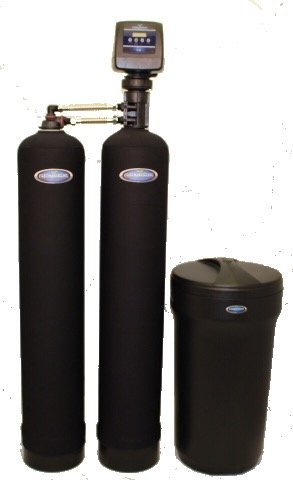 Discount Water Softeners Duo 48,000 Grain Water Softener and Whole House Chlorine Filtration and Removal System, Digital Metered, High Efficiency, Direct Flow and Upflow Brining